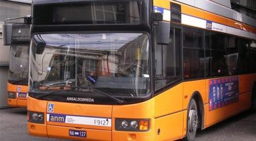ANM Bus in Neapel