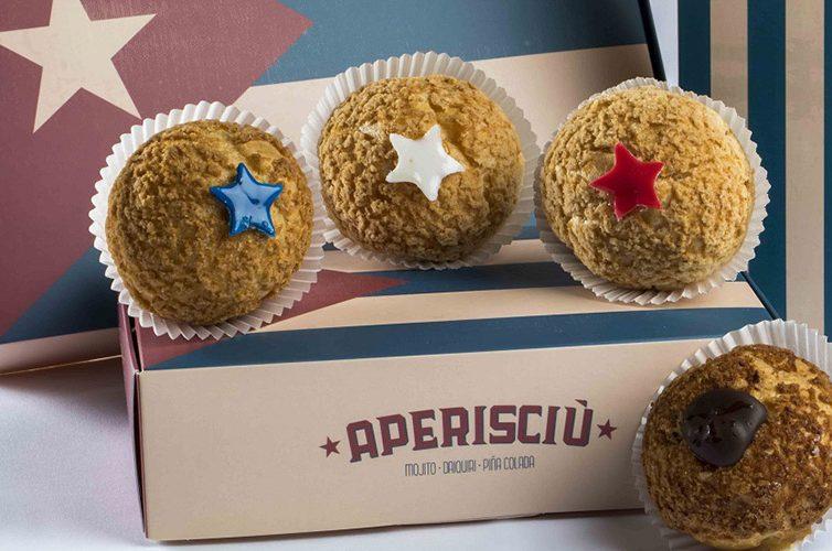 aperisciu, dolce della pasticceria seccia per il carnevale 2018 a Napoli