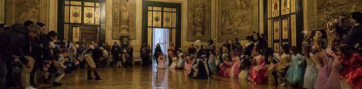 Palazzo Reale di Napoli, ballo in maschera a corte