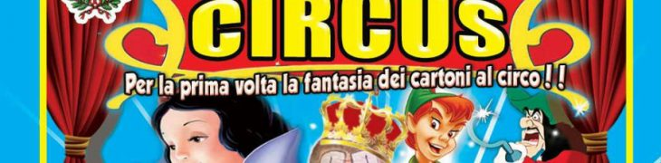Cartoon Circus a Torre Annunziata