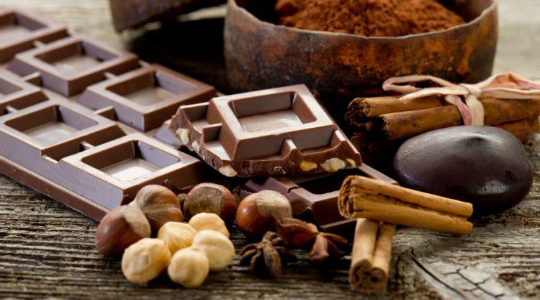 Schokoladen-Zutaten