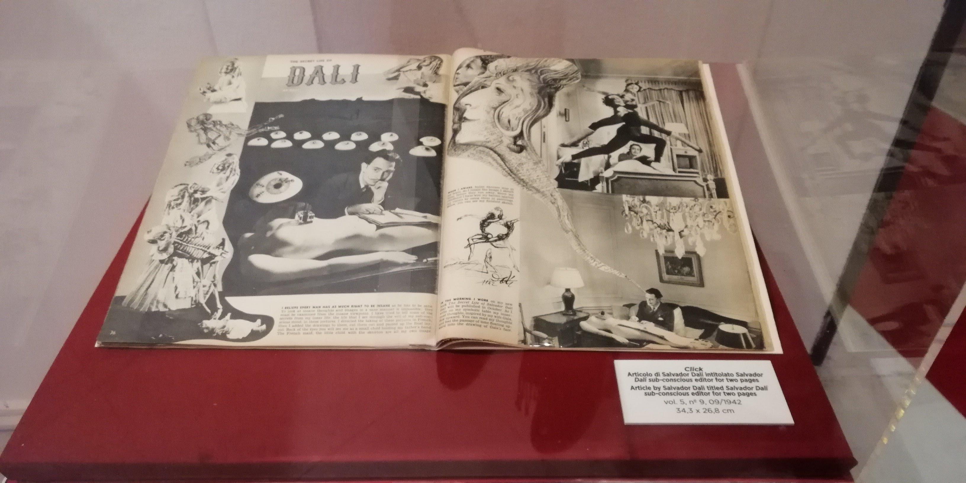 Dalì, libro di illustrazioni