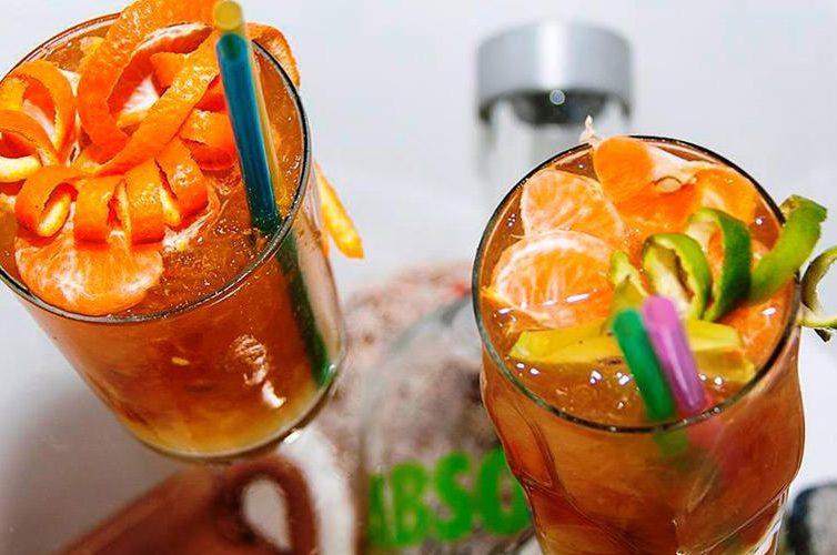 Festa del mandarino a Pozzuoli, drink al mandarino