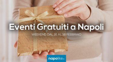 Eventi gratuiti a Napoli nel weekend dal 16 al 18 febbraio 2018