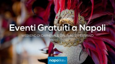 Free events in Naples for the Carnival weekend from 9 to 13 February 2018