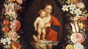 locandina di Al Museo Diocesano di Napoli arriva La Madonna con bambino di Rubens, capolavoro del '600