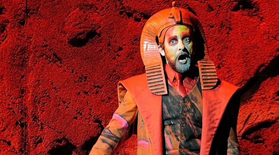 Lo spettacolo Mosè in Egitto di Gioacchino Rossini al Teatro San Carlo di Napoli