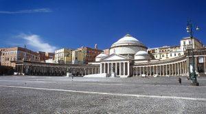 Piazza del Plebiscito in Neapel