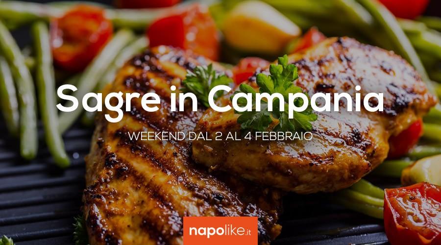 Sagre in Campania nel weekend dal 2 al 4 febbraio 2018