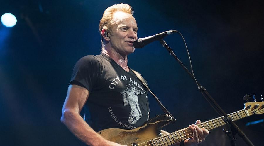 Sting annuncia cinque concerti in Italia la prossima estate