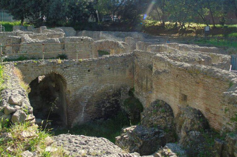 Terme romane in via Terracina a Napoli