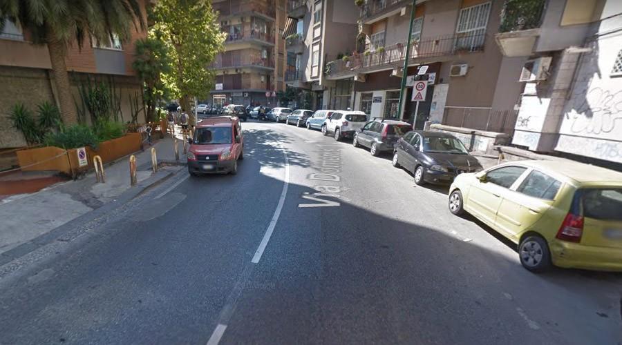 Via Domenico Fontana al Vomero