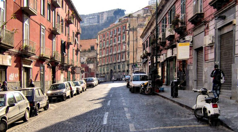 Corso Vittorio Emanuele en Nápoles