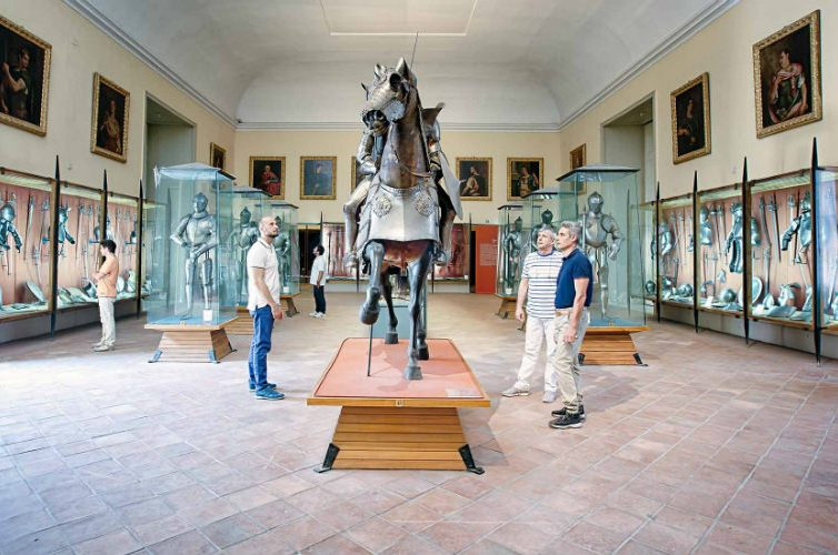 Armeria Farnese e Borbonica, Museo di Capodimonte