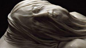 locandina di Mostra gratuita sul Cristo Velato al Maschio Angioino di Napoli: il capolavoro a lume di candela