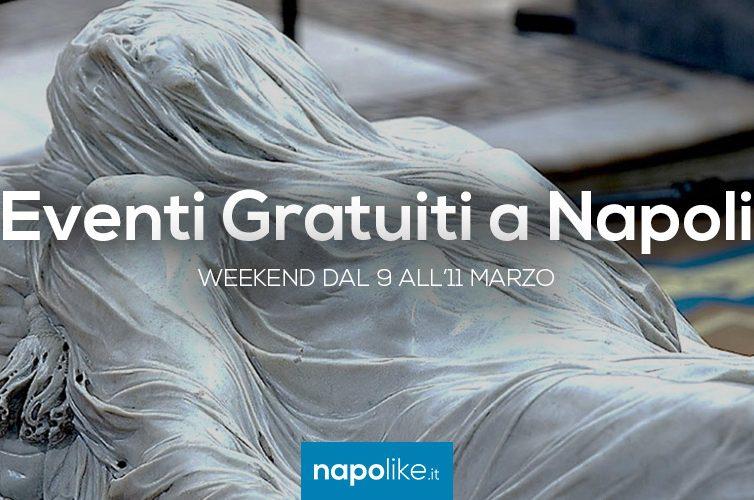 Eventi gratuiti a Napoli nel weekend dal 9 all'11 marzo 2018