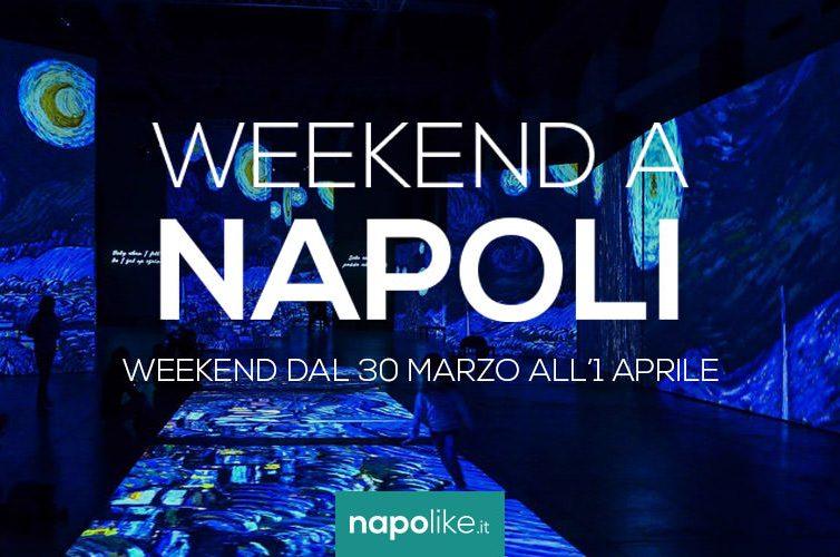 Eventi a Napoli nel weekend dal 30 marzo all'1 aprile 2018