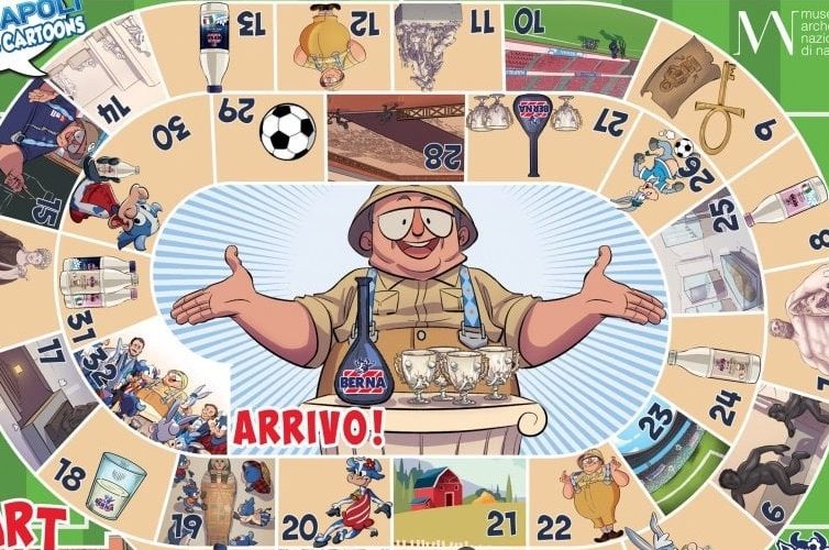 Fumetti Berna Museo Archeologico Napoli