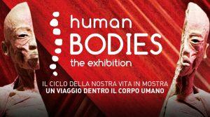 locandina di Human Bodies a Città della Scienza a Napoli: arriva la mostra dedicata al corpo umano
