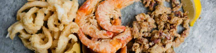 Cuoppo di pesce fritto al Borgo Marechiaro