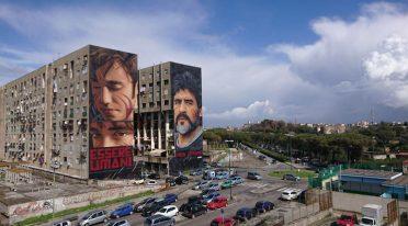 Essere Umani, il murales di Jorit a San Giovanni a Teduccio