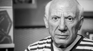 locandina di Picasso e le sue Muse a Nola: mostra a 1 euro con 62 opere grafiche, foto e litografie