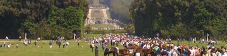 منتزه قصر كازيرتا الملكي