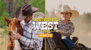 Pasquetta 2019 poster at the CELP riding school: one day in the West as real cowboys