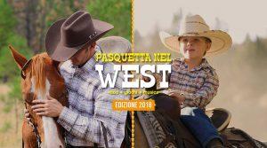 Affiche Pasquetta 2019 au centre équestre CELP: un jour dans l'Ouest comme de vrais cow-boys