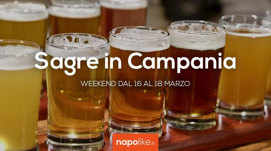 Sagre in Campania nel weekend dal 16 al 18 marzo 2018