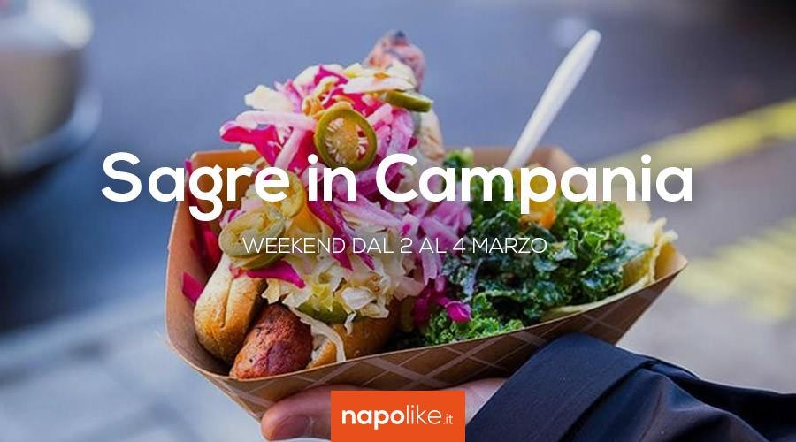Sagre in Campania nel weekend dal 2 al 4 marzo 2018