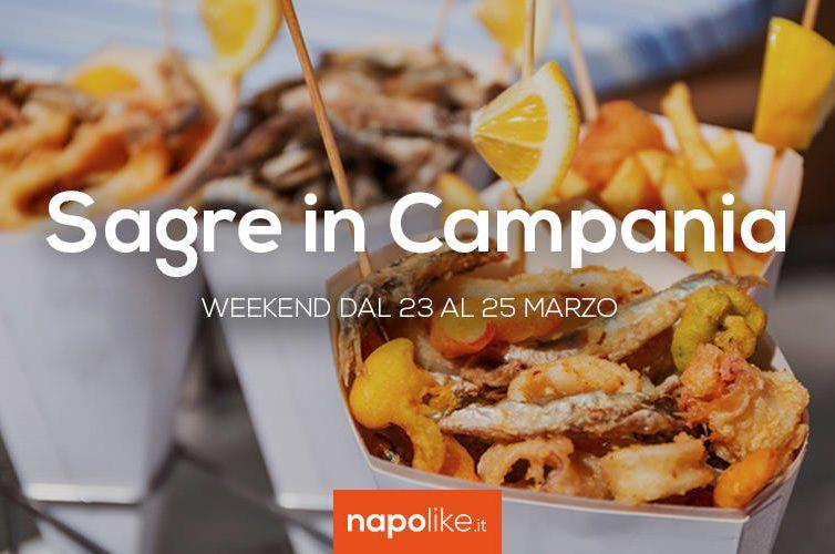 Sagre in Campania nel weekend dal 23 al 25 marzo 2018