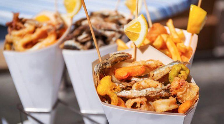 Street food fried