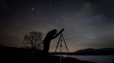 Osservazioni al telescopio all'osservatorio di Capodimonte