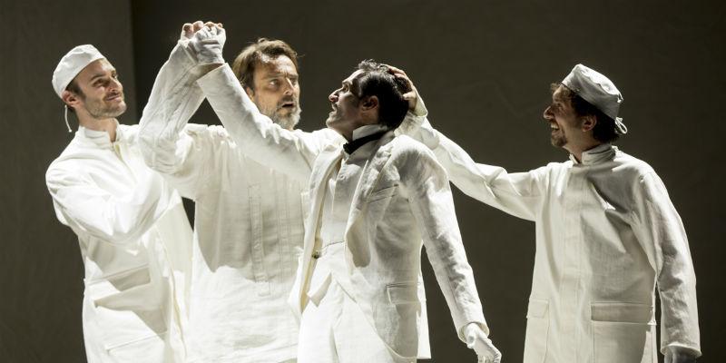Van Gogh l'odore assordante dle bianco, Alessandro Preziosi al Teatro Mercadante di Napoli
