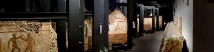 Depositi del Museo di Paestum