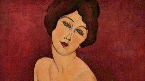 locandina di Modigliani Opera alla Reggia di Caserta: la mostra immersiva sull'artista livornese