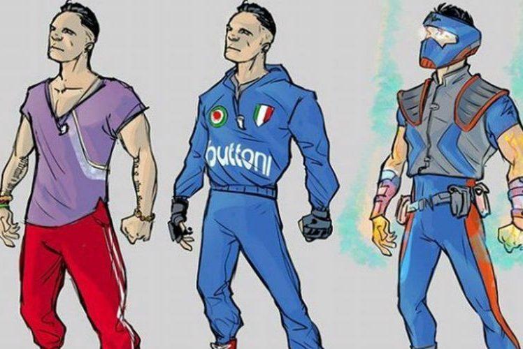 Capitan Napoli al Comicon 2018
