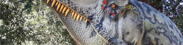 Show Dinosaurs in the flesh in Naples