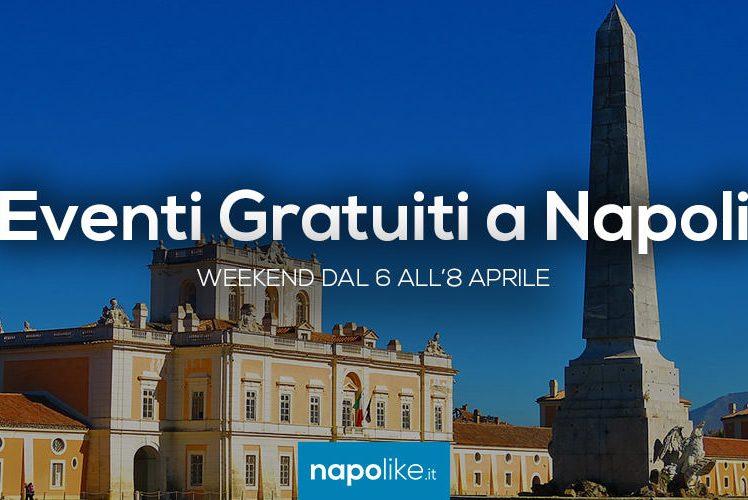 Eventi gratuiti a Napoli nel weekend dal 6 all'8 aprile 2018