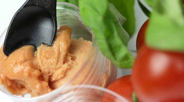 Gelateria a San Giorgio a Cremano crea gelato al pomodoro