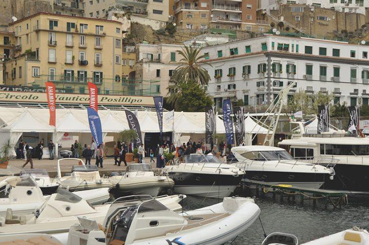 Imbarcazioni alla kermesse Navigare a Napoli