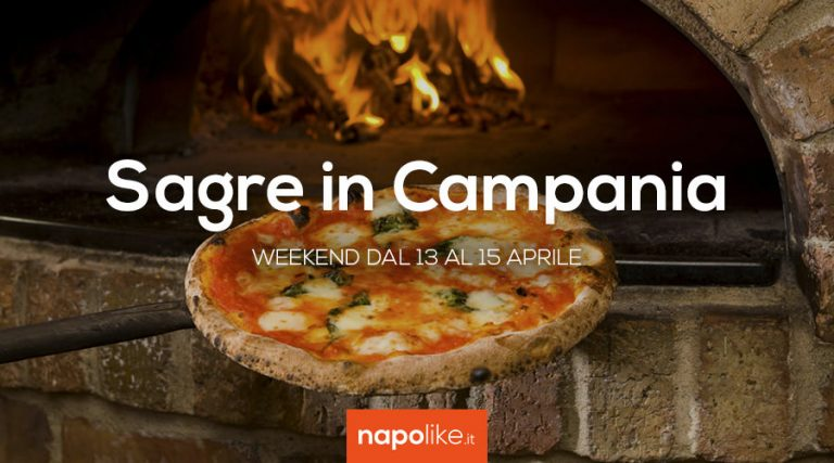 Sagre in Campania nel weekend dal 13 al 15 aprile 2018