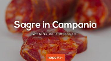 Sagre in Campania nel weekend dal 20 al 22 aprile 2018