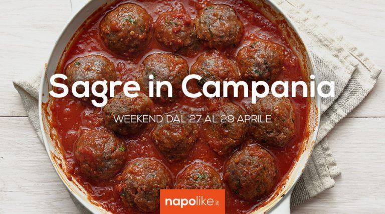 Sagre in Campania nel weekend dal 27 al 29 aprile 2018