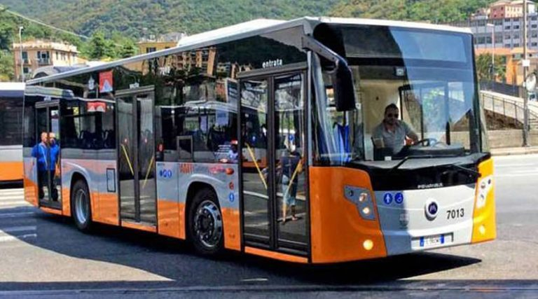 New buses in Naples