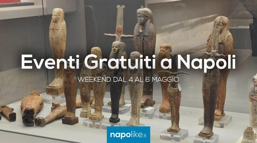 Eventi gratuiti a Napoli nel weekend dal 4 al 6 maggio 2018