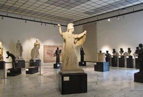 ナポリ国立考古学博物館での美術館祭
