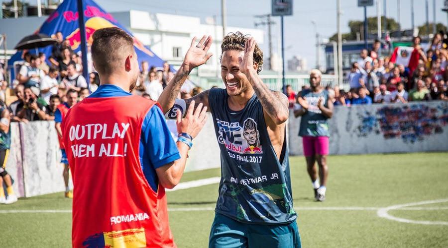 A Napoli il torneo di street soccert Neymar Jr's Five