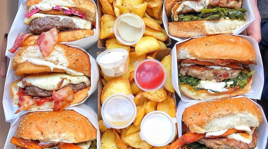 Puok sandwiches en Nápoles